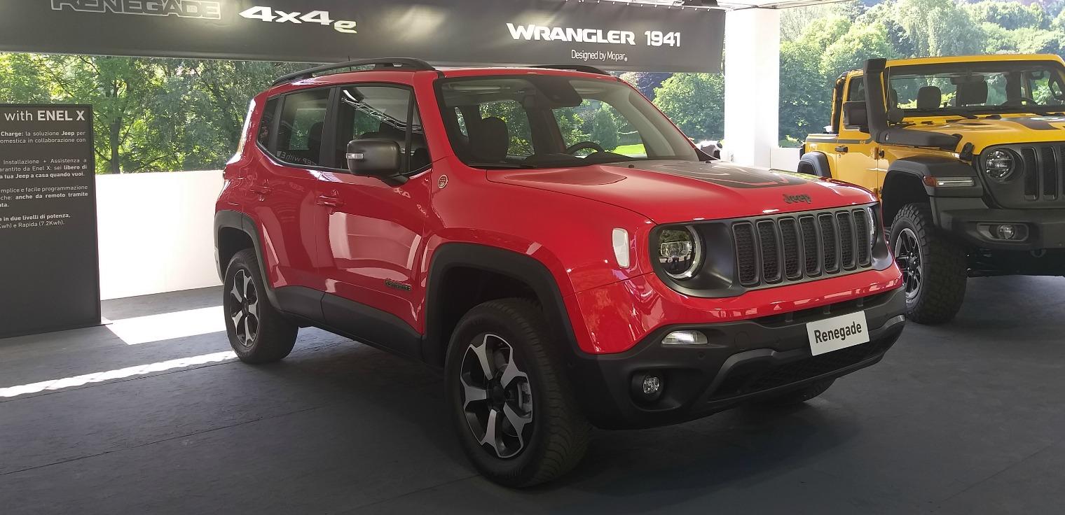 Nuova Jeep Renegade Salone di Torino 2019