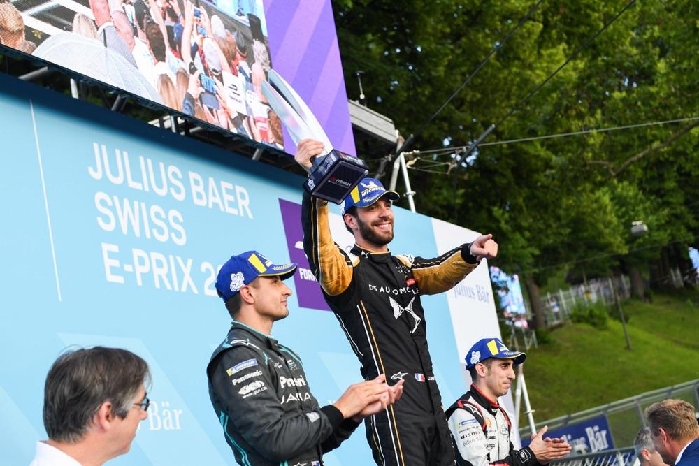 Ordine arrivo ePrix Berna 2019