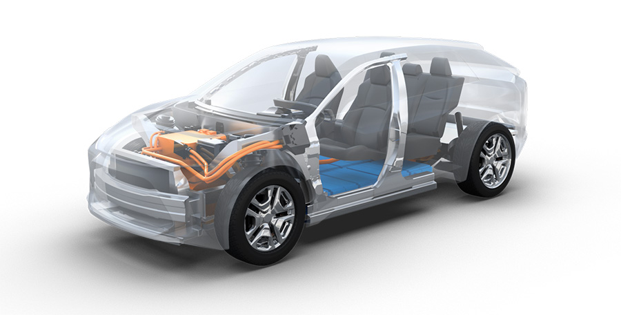 Suv elettrico Toyota e Subaru