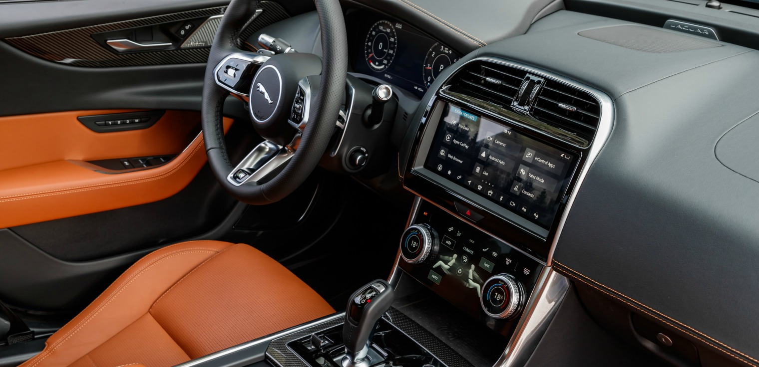 Tecnologia nuova Jaguar XE