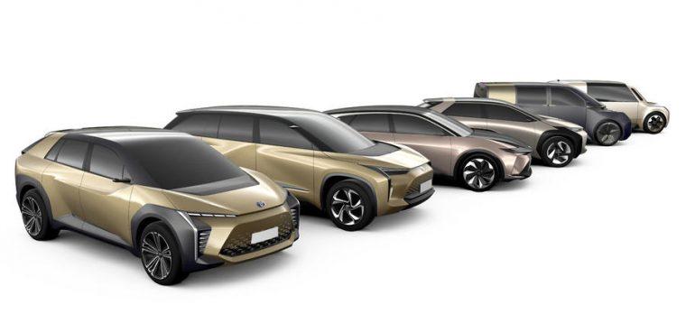 Toyota e-TNGA elettriche 2020