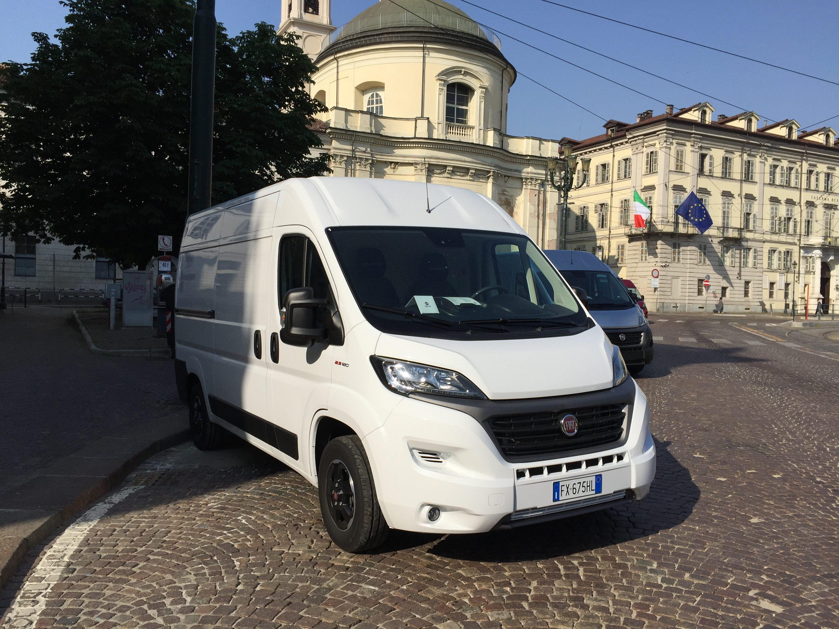 Anteprima Fiat Ducato 2020