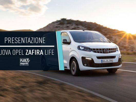 La presentazione della nuova Opel Zafira Life 2019