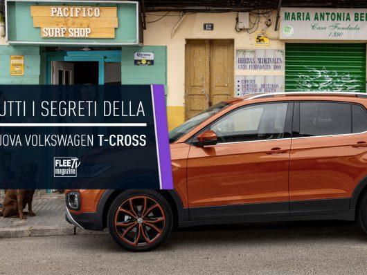 I segreti della Volkswagen T-Cross 2019