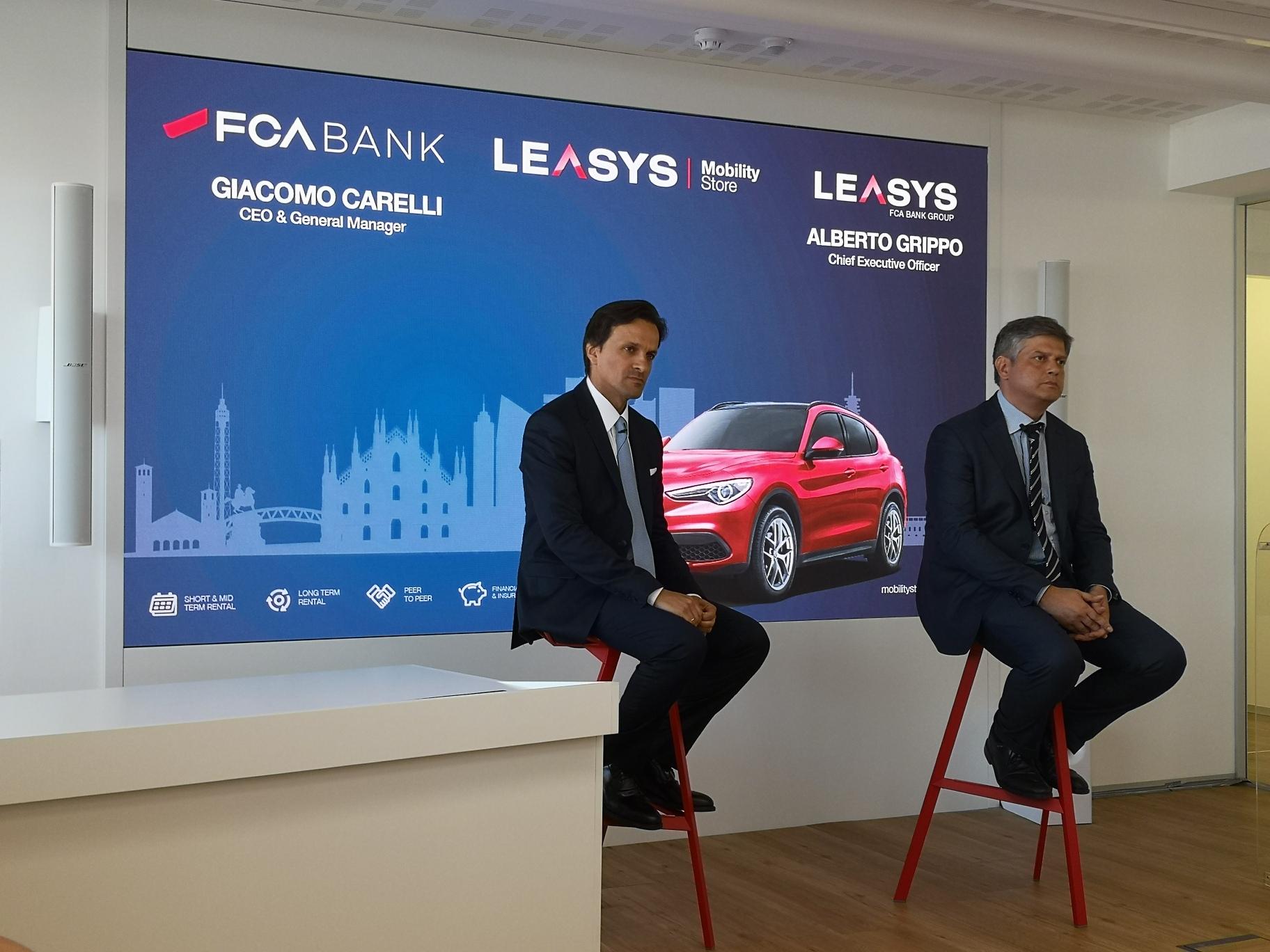 Living Mobility: presentazione Leasys Mobility Store