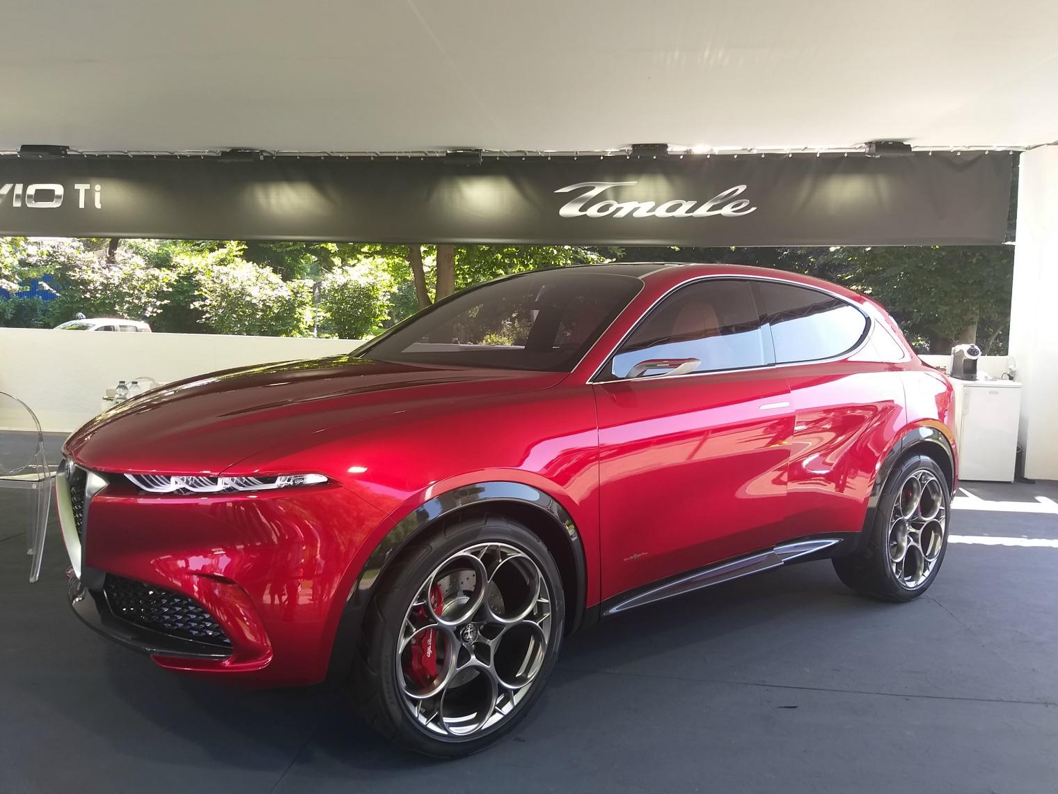 nuova Alfa Romeo Tonale Parco Valentino 2019