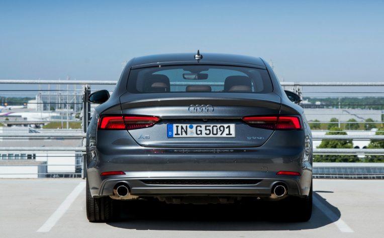 nuova Audi A5 Sportback g-tron monofuel