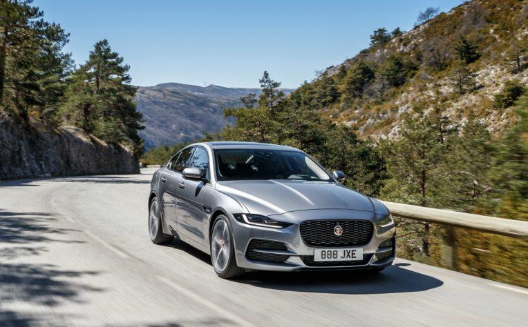 nuova Jaguar XE 2019