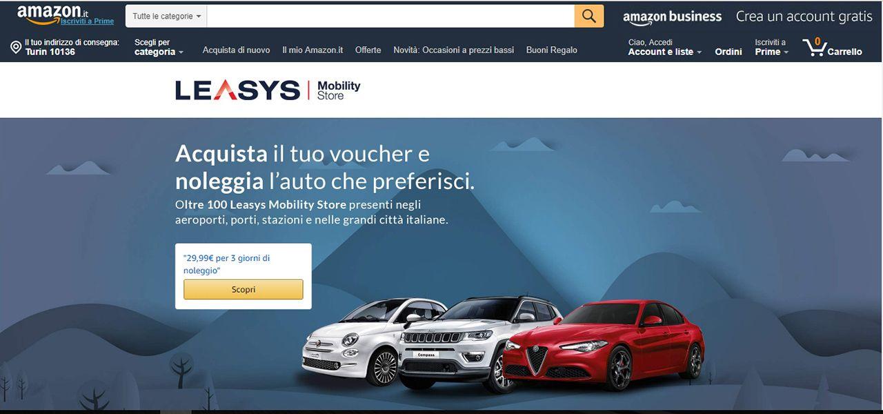 Offerta Leasys su Amazon