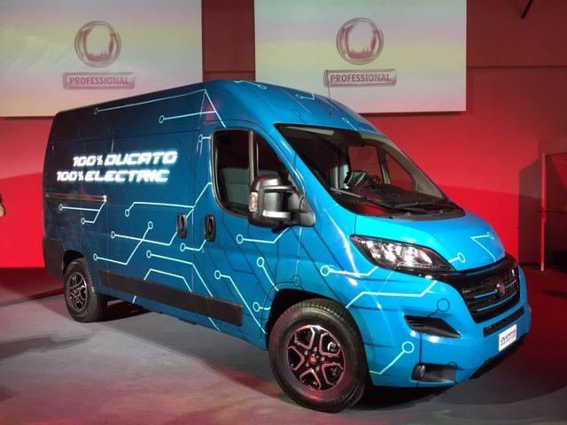 Presentazione Fiat Ducato 2020 eletrico