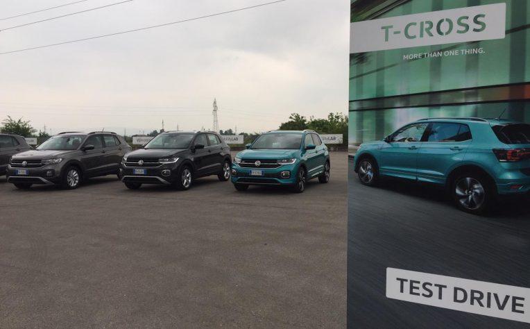 Test Drive nuova Volkswagen T-Cross