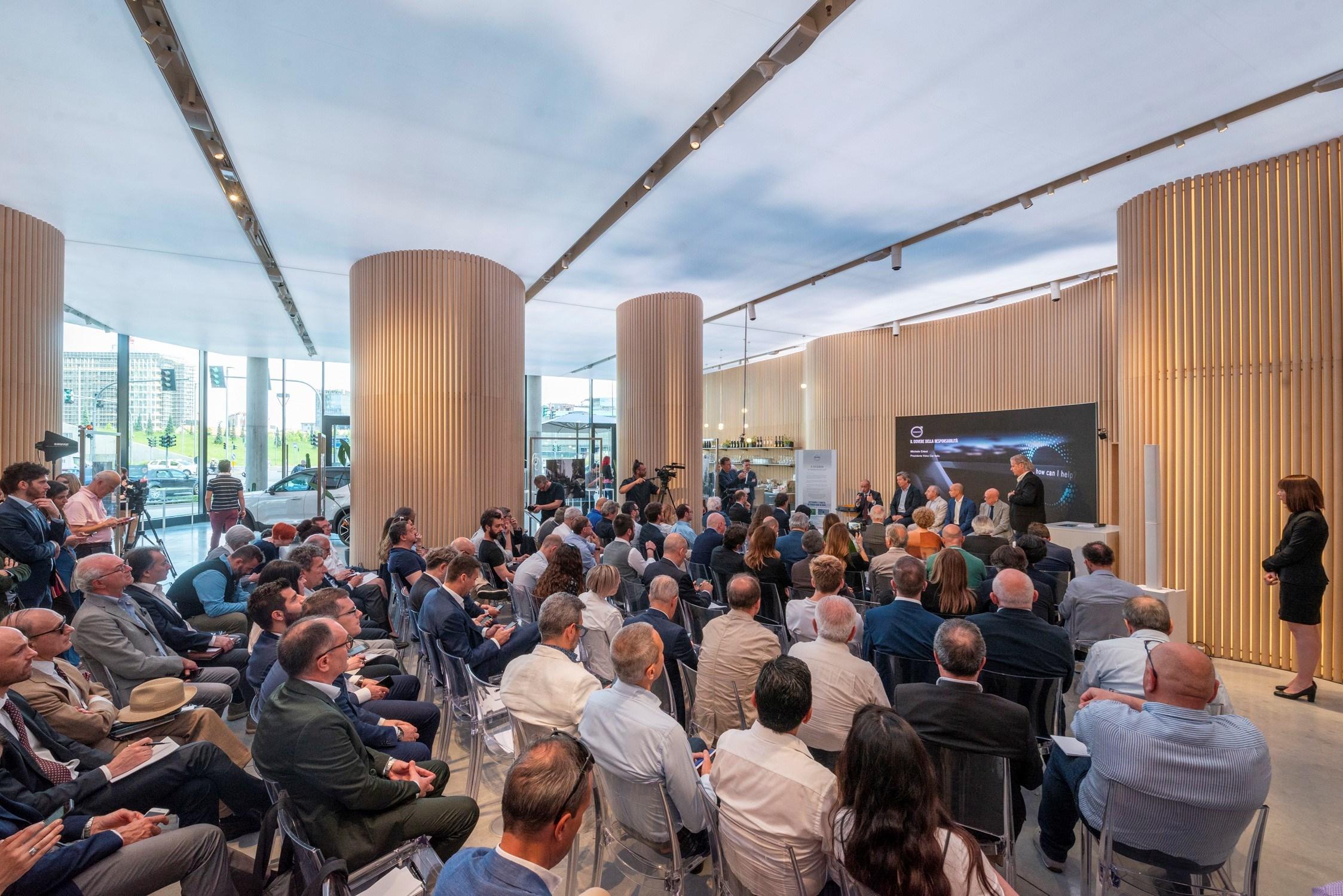 Volvo e LifeGate presentano il progetto PlasticLess 2019