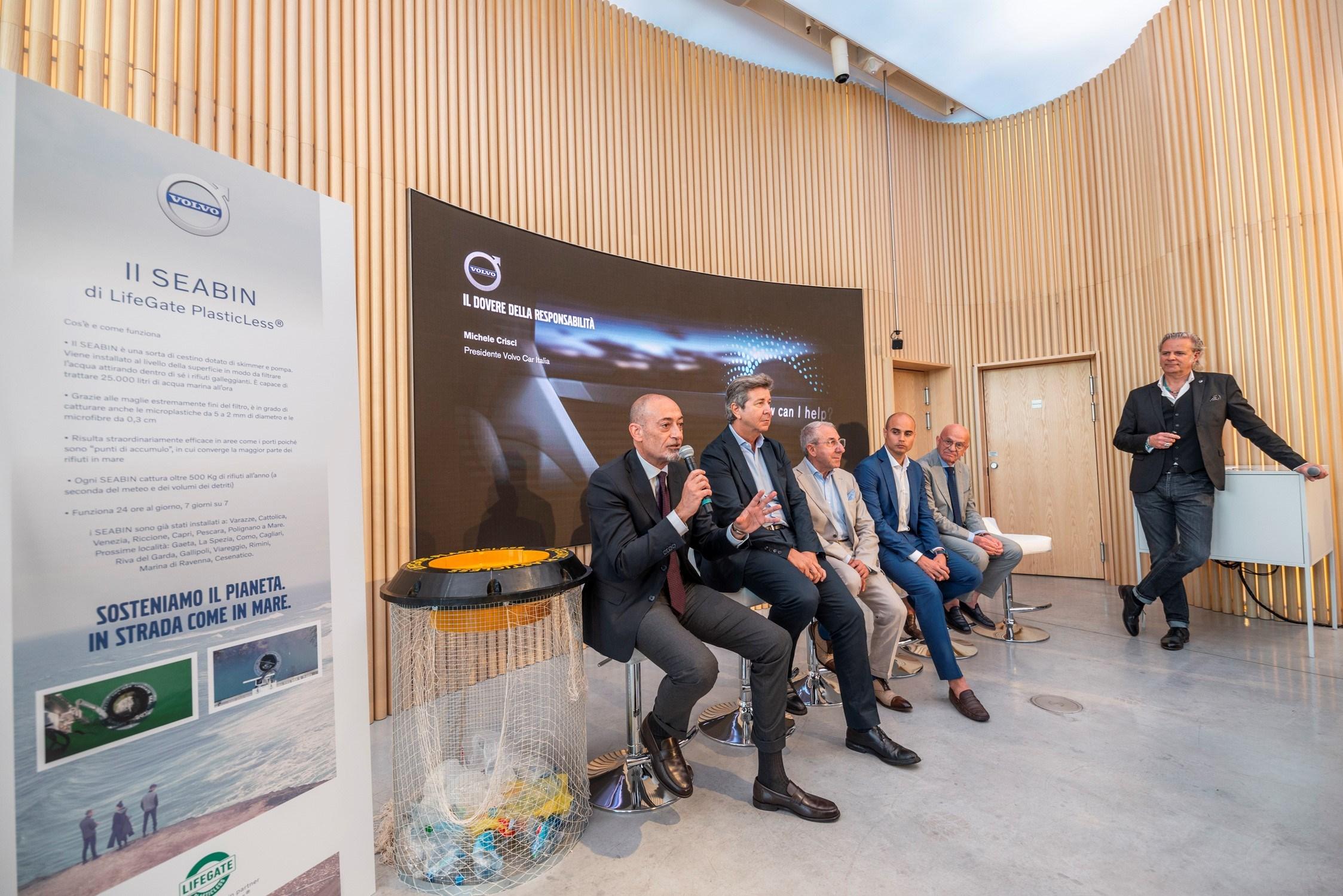 Volvo Studio Milano presenta il progetto PlasticLess 2019