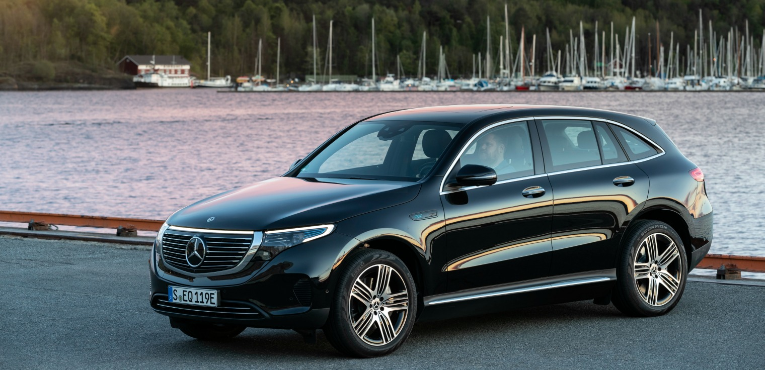 Adas nuova Mercedes EQC