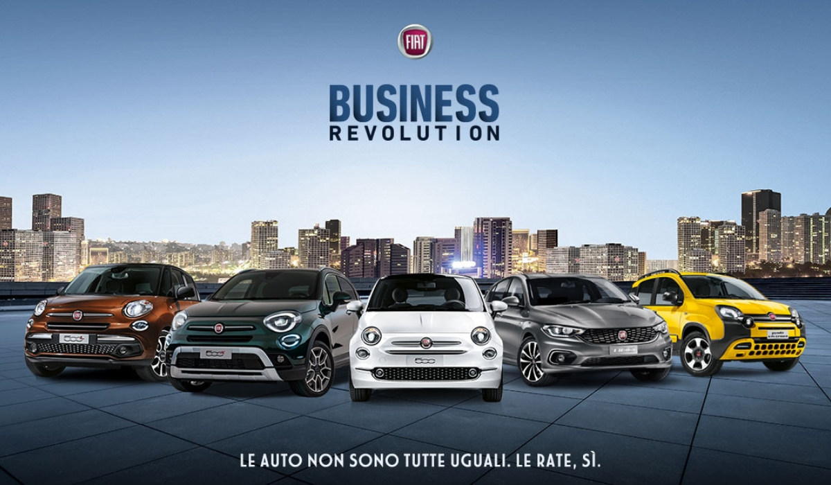 Business Revolution FCA Fiat come funziona