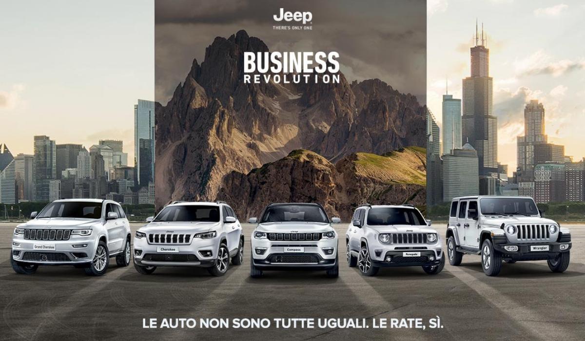 Business Revolution FCA Jeep come funziona