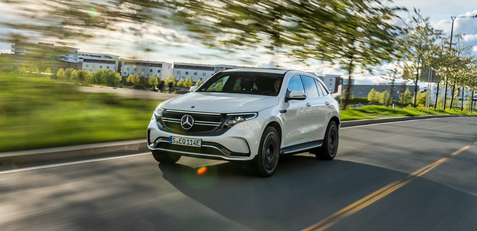 Esterni nuova Mercedes EQC 2019