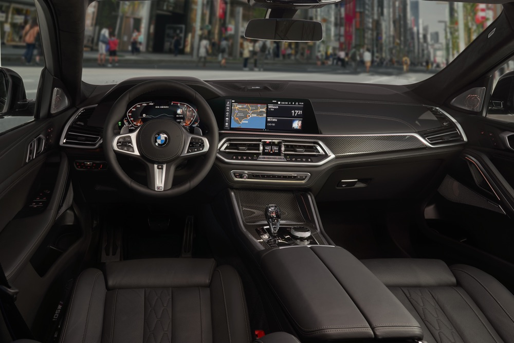 Interni di Nuova BMW X6 2019