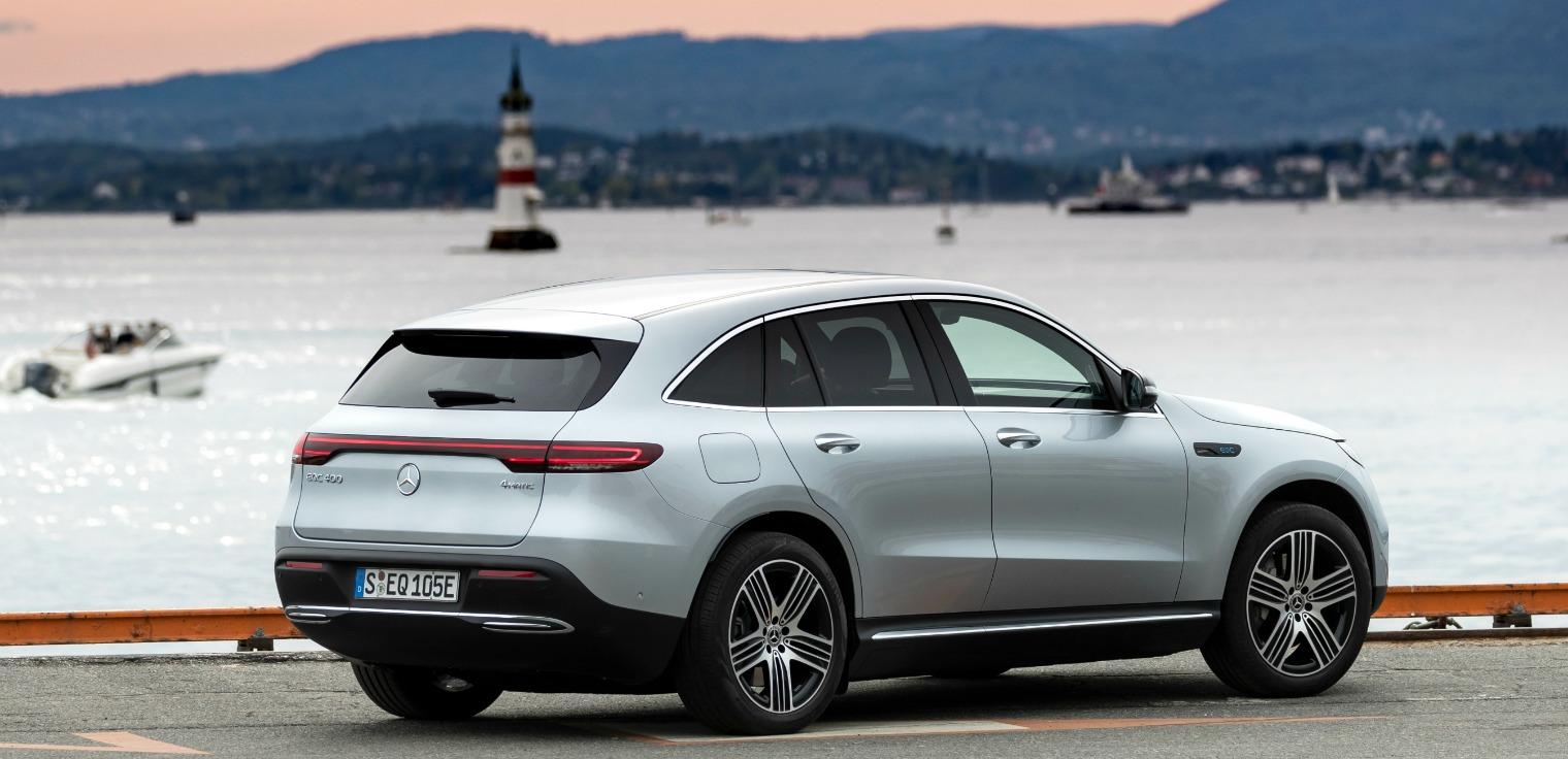Mercedes me Charge nuova Mercedes EQC