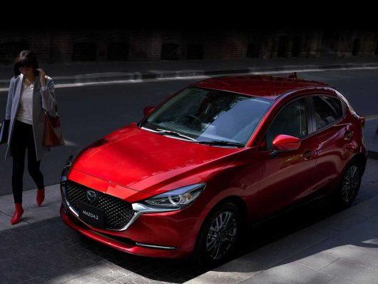 Mazda2 restyling
