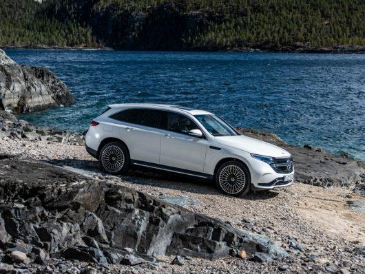 Nuova Mercedes EQC 2019