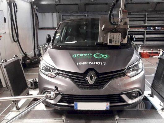 Nuovi motori diesel poco inquinanti test Green NCAP Renault Scenic