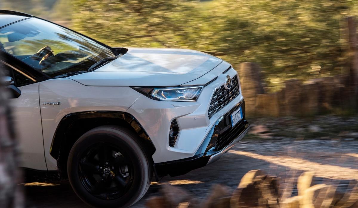 Nuovo Toyota RAV4 Hybrid 2019 off-road