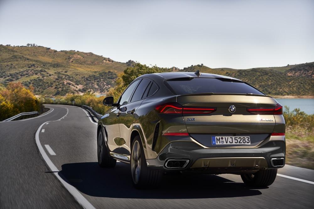 Sospensioni di Nuova BMW X6 2019