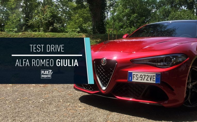 Cover video Test Drive Alfa Romeo Giulia
