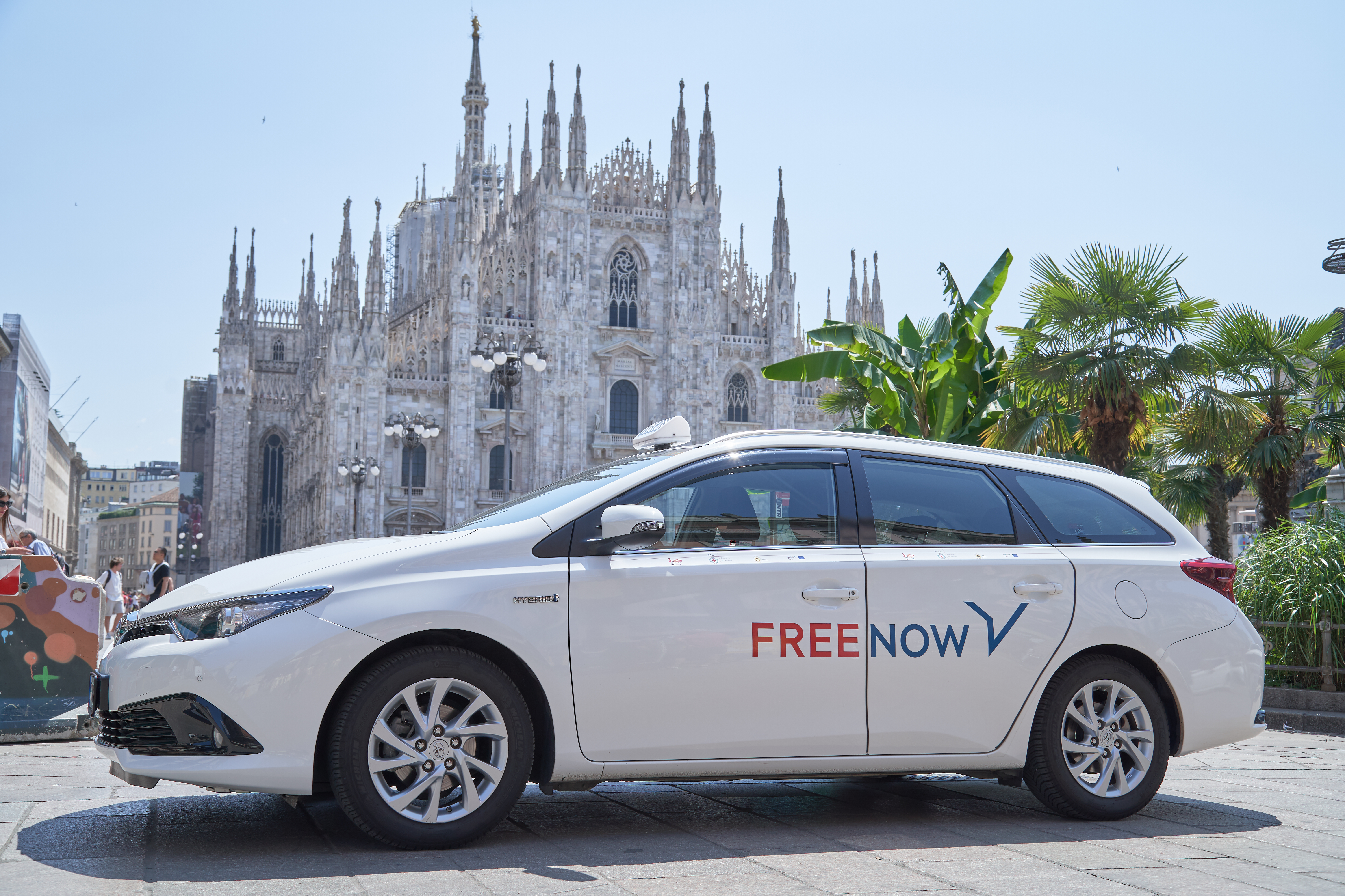 Free Now arriva a Milano