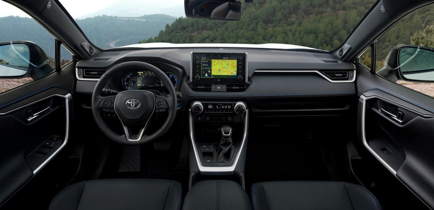 interni nuovo Toyota RAV4 2019
