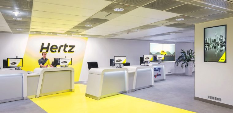 Pagare il noleggio con il Bancomat Hertz