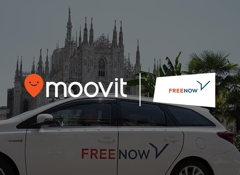 Ufficializzata la partnership tra Free Now e Moovit