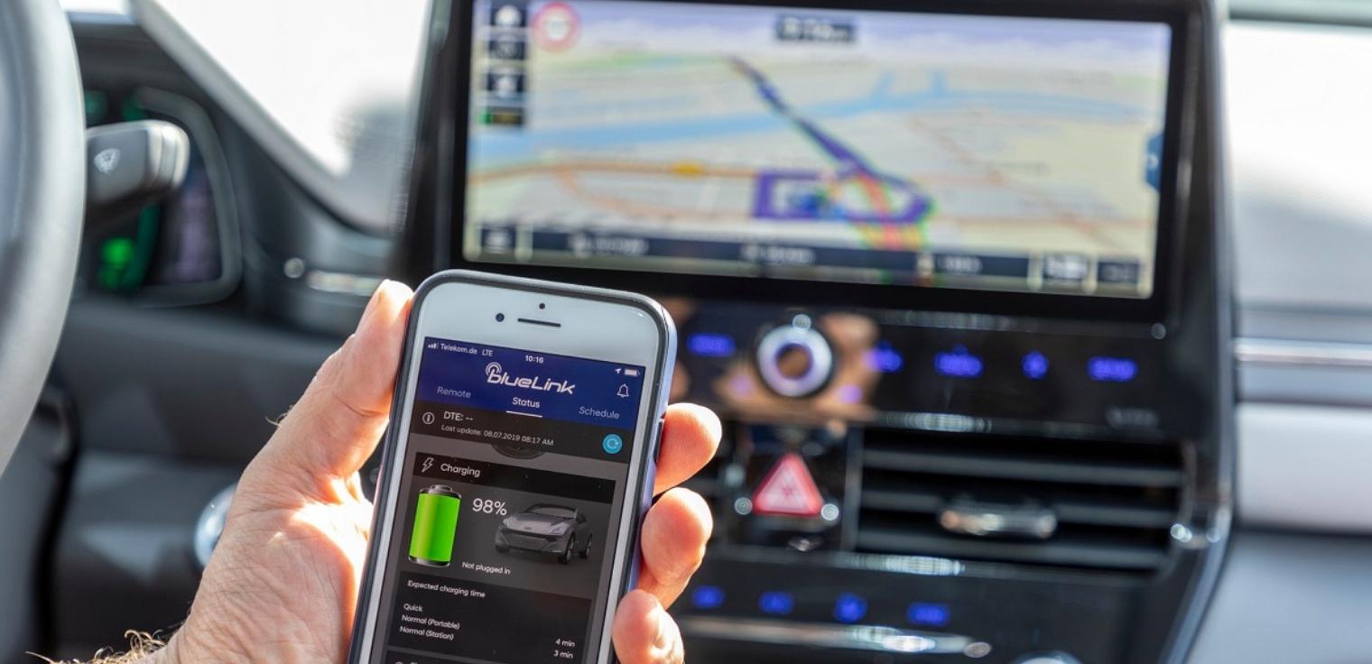 Bluelink Hyundai app controllo da remoto come funziona