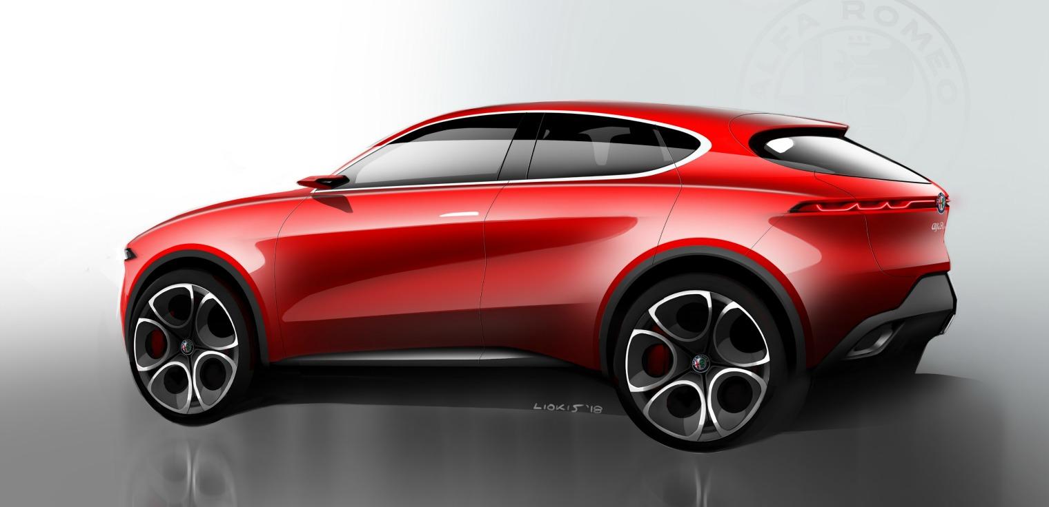 Esterni nuova Alfa Romeo Tonale