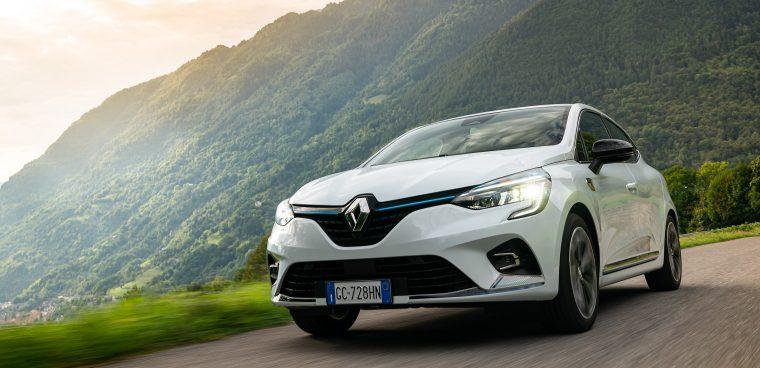 Esterni nuova Renault Clio
