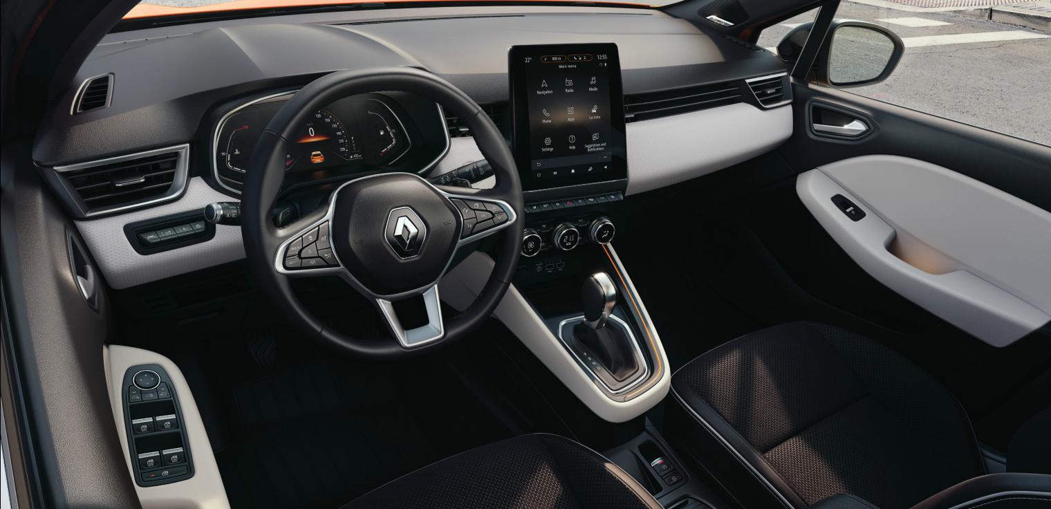 Interni nuova Renault Clio 2020