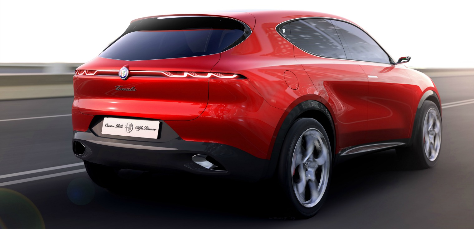 Nuova Alfa Romeo Tonale su strada