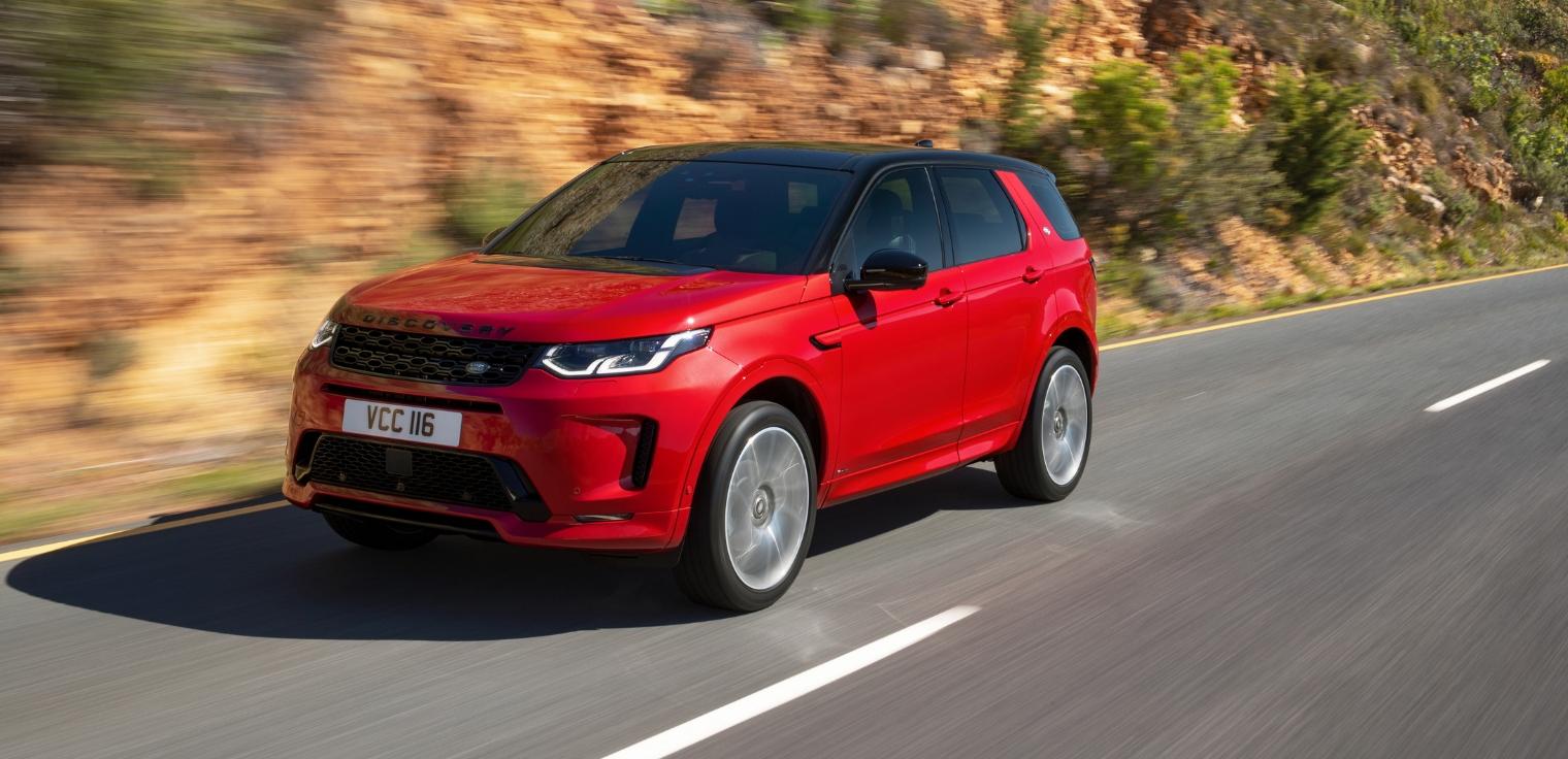 Nuova Land Rover Discovery Sport 2020 restyling su strada