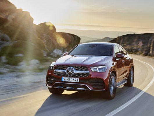 Nuova Mercedes GLE Coupe 2020