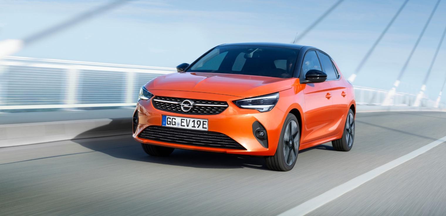 Nuova Opel Corsa-e elettrica 2020