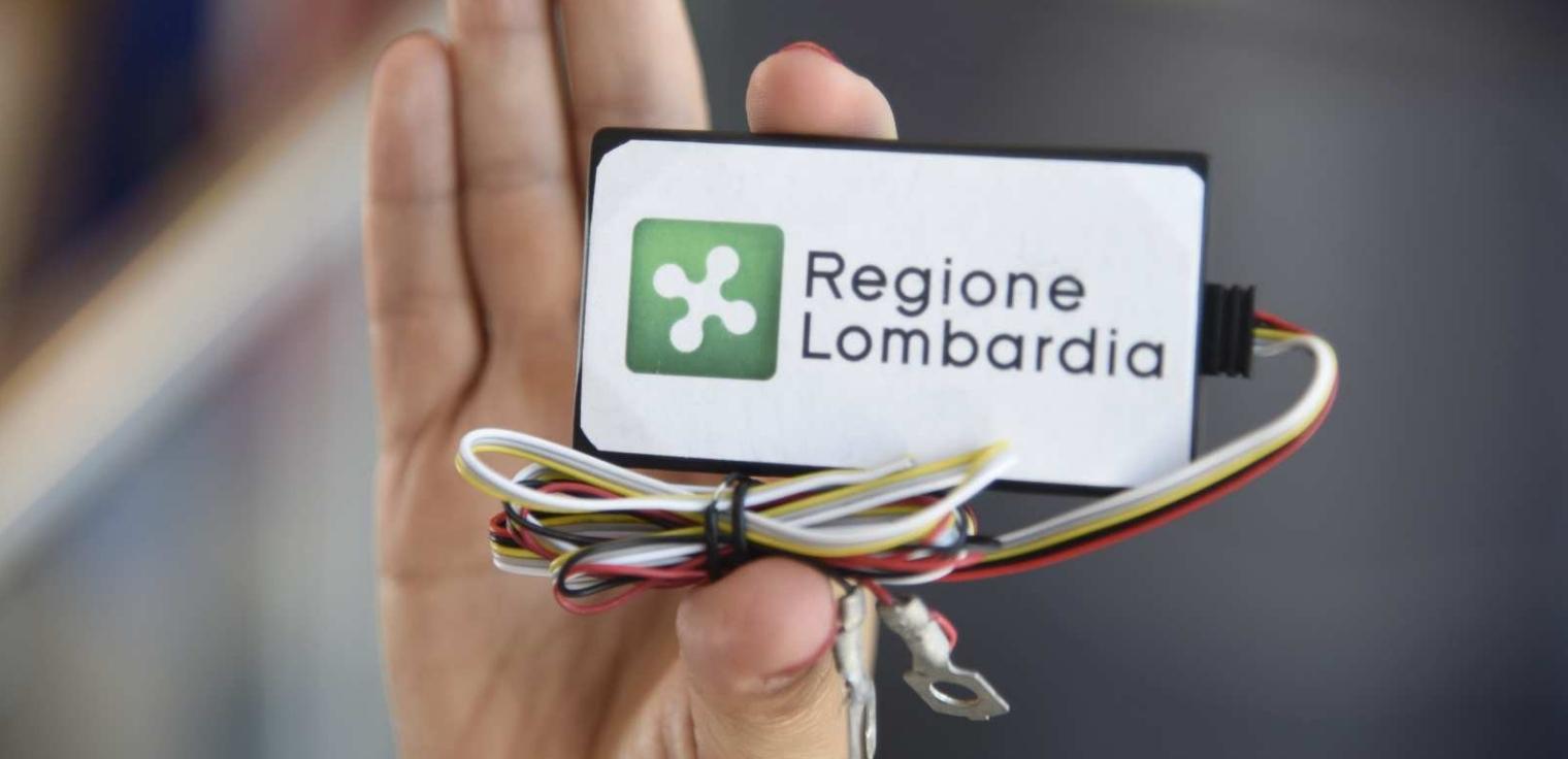Scatola nera progetto move-in Lombardia deroghe limiti circolazione