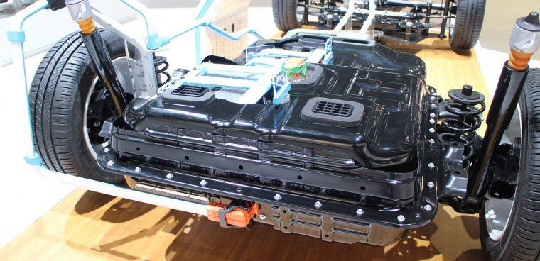 Riciclo batteria auto elettrica