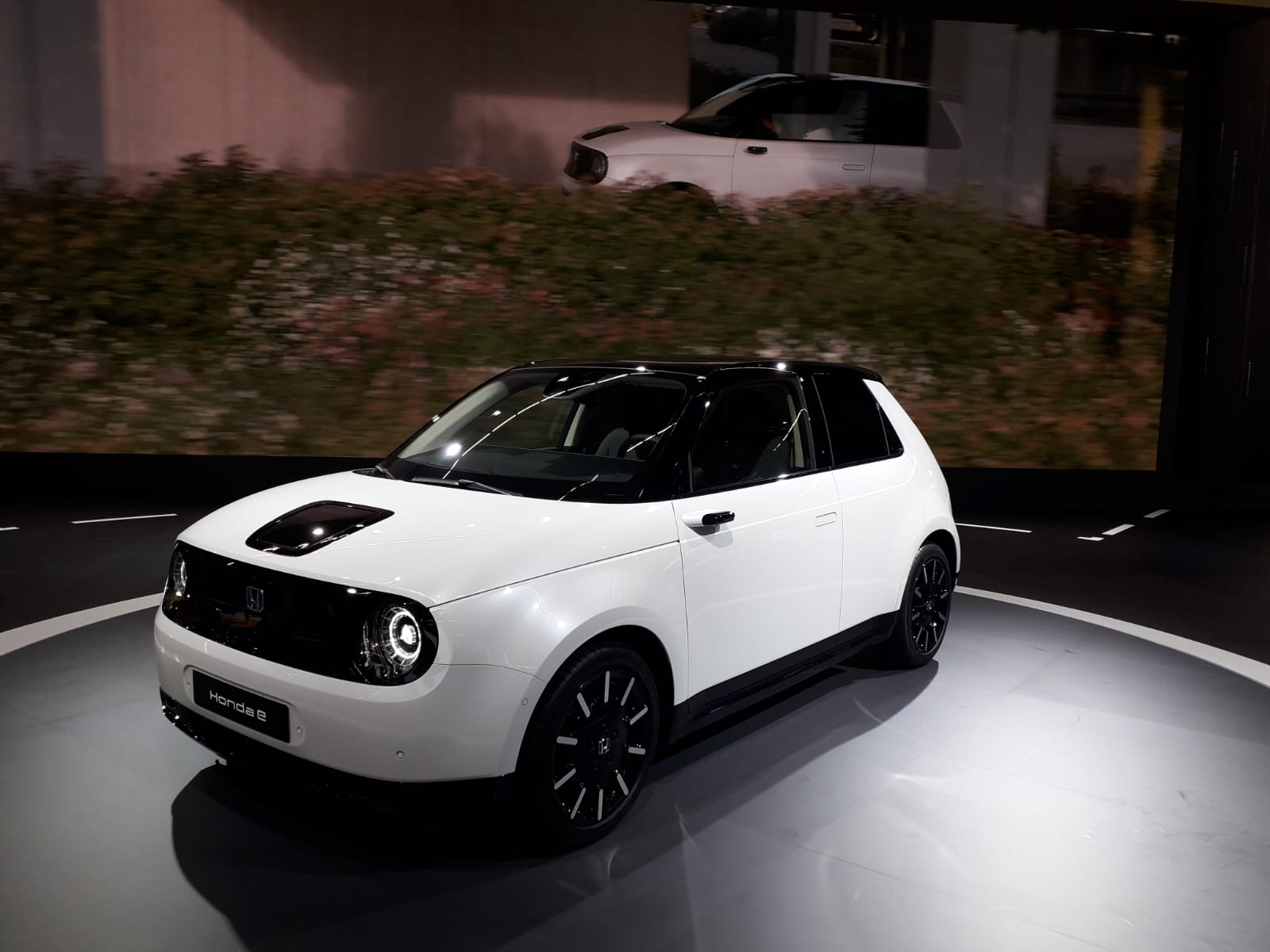 Design Honda e elettrica