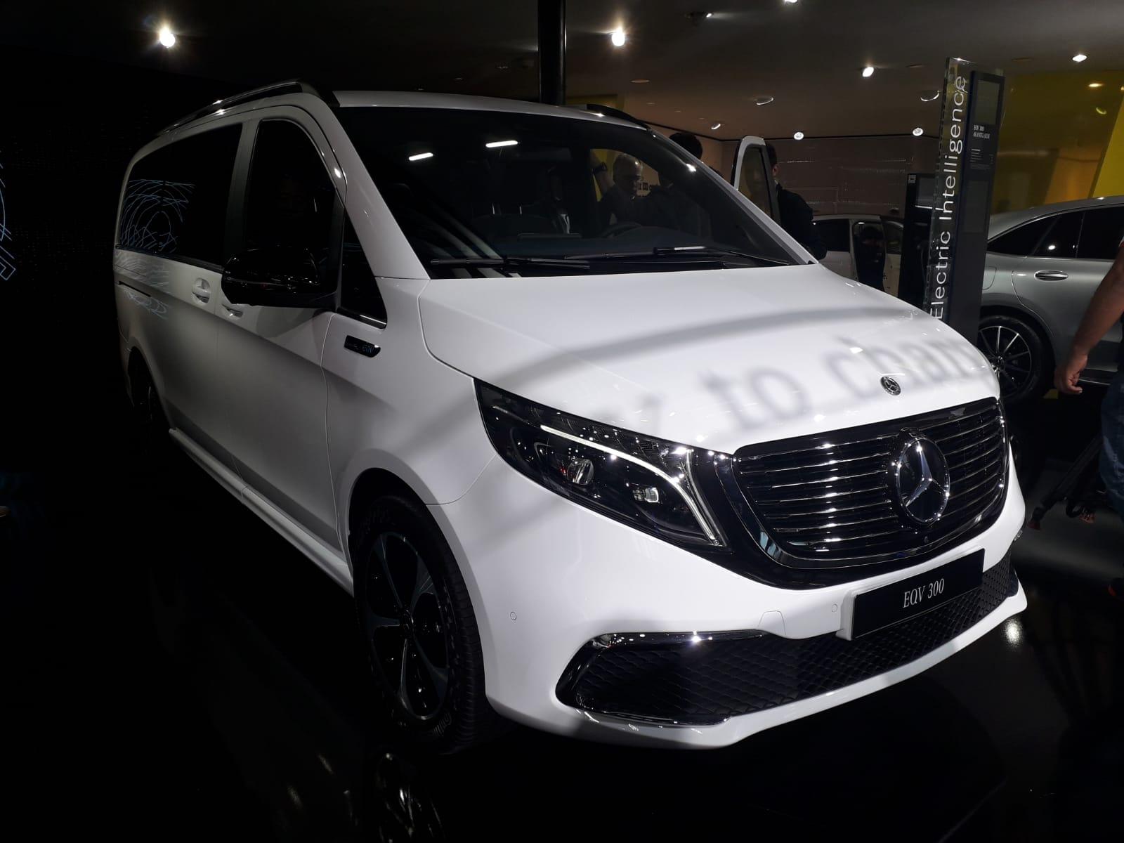 Mercedes EQV al Salone di Francoforte