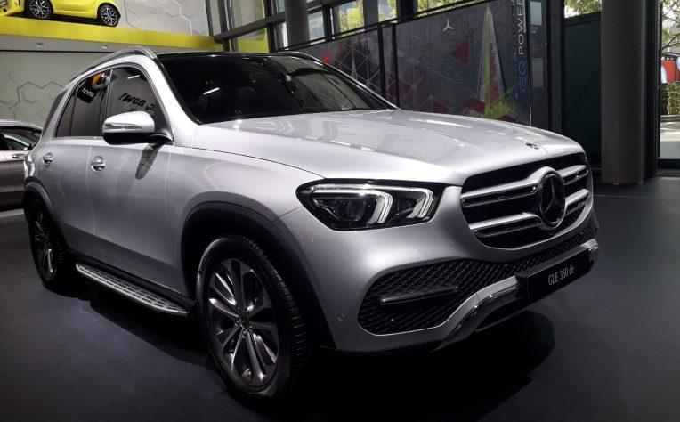 Mercedes GLE al Salone di Francoforte