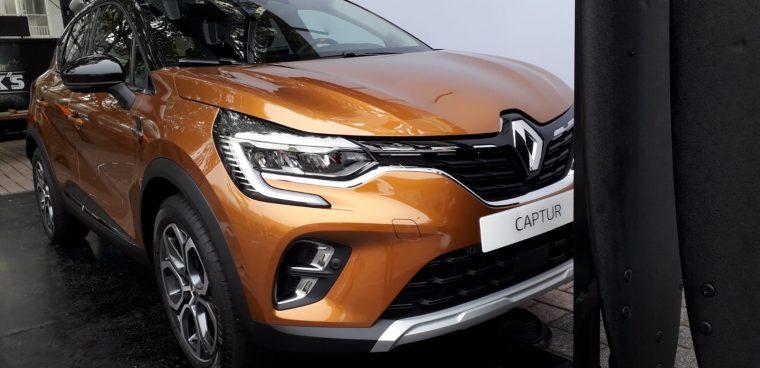 Nuova Renault Captur Salone Francoforte 2019