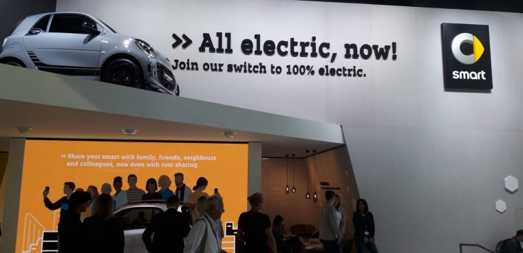 Smart al Salone di Francoforte 2019
