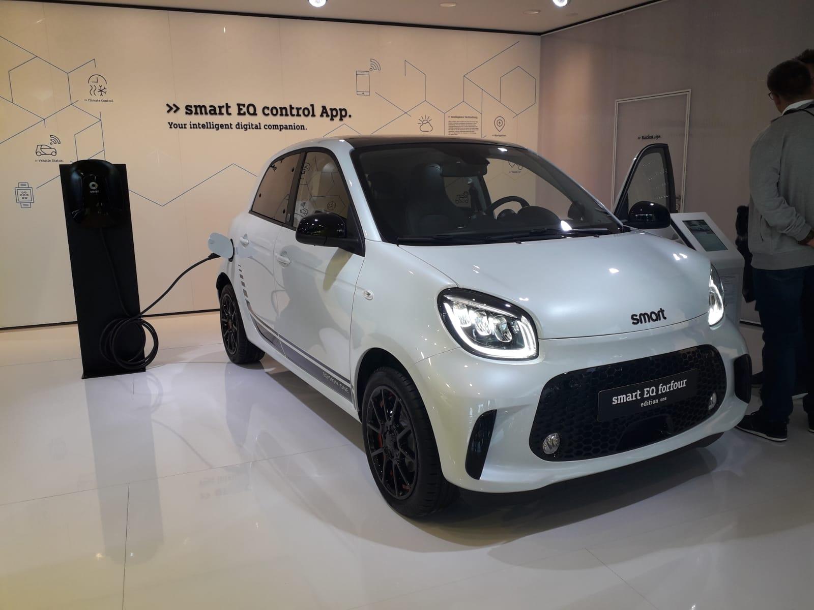 la nuova Smart elettrica al Salone di Francoforte 2019