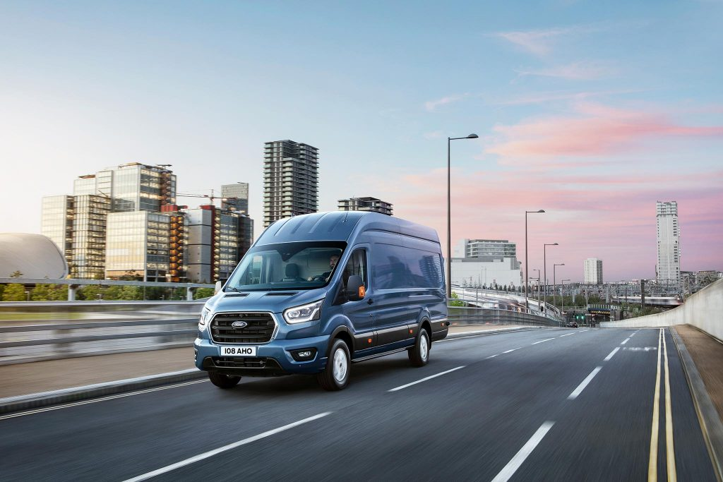 FORD TRANSIT 2T blue